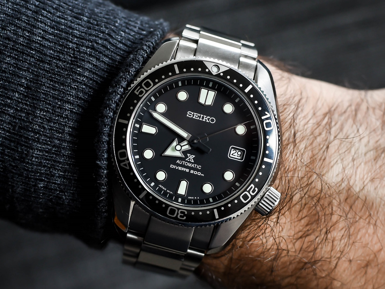 Seiko SBDC061 on the wrist